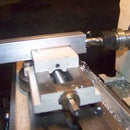 A small low profile machine vise