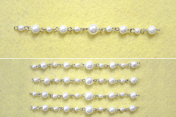 Picture of Make Bead Link Chain for the Long Layered Pearl Necklace