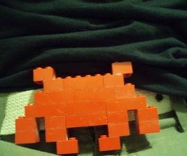 Lego Space Invader Belt