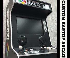 Custom Bartop Arcade Cabinet