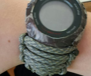 Paracord Watch With Duct Tape