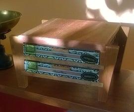 Cigar Box mini dresser jewelry box thingie