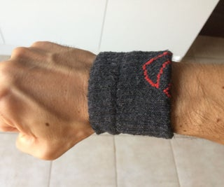 Make Your Own Sports Wristband