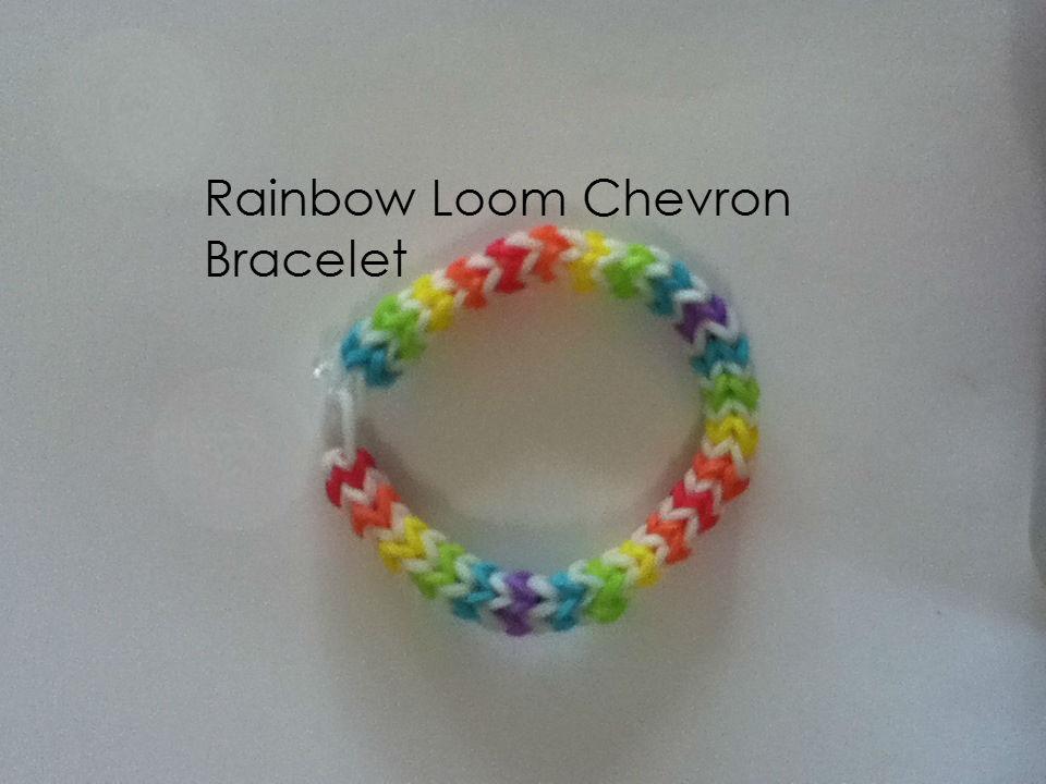 Picture of Rainbow Loom Chevron Bracelet