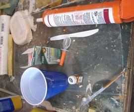 Using Silicone Caulking to Make Molds