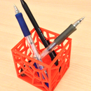 How to use TinkerCAD to make a pen holder