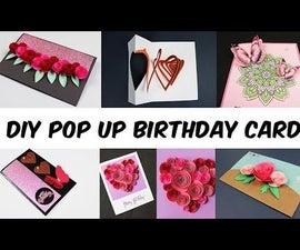 6 DIY Pop Up Birthday Cards