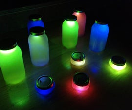 Jars of Glowing Spirits