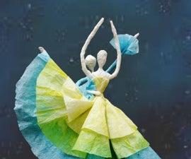 Paper Serviette Ballerina