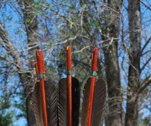Making Bamboo Arrows