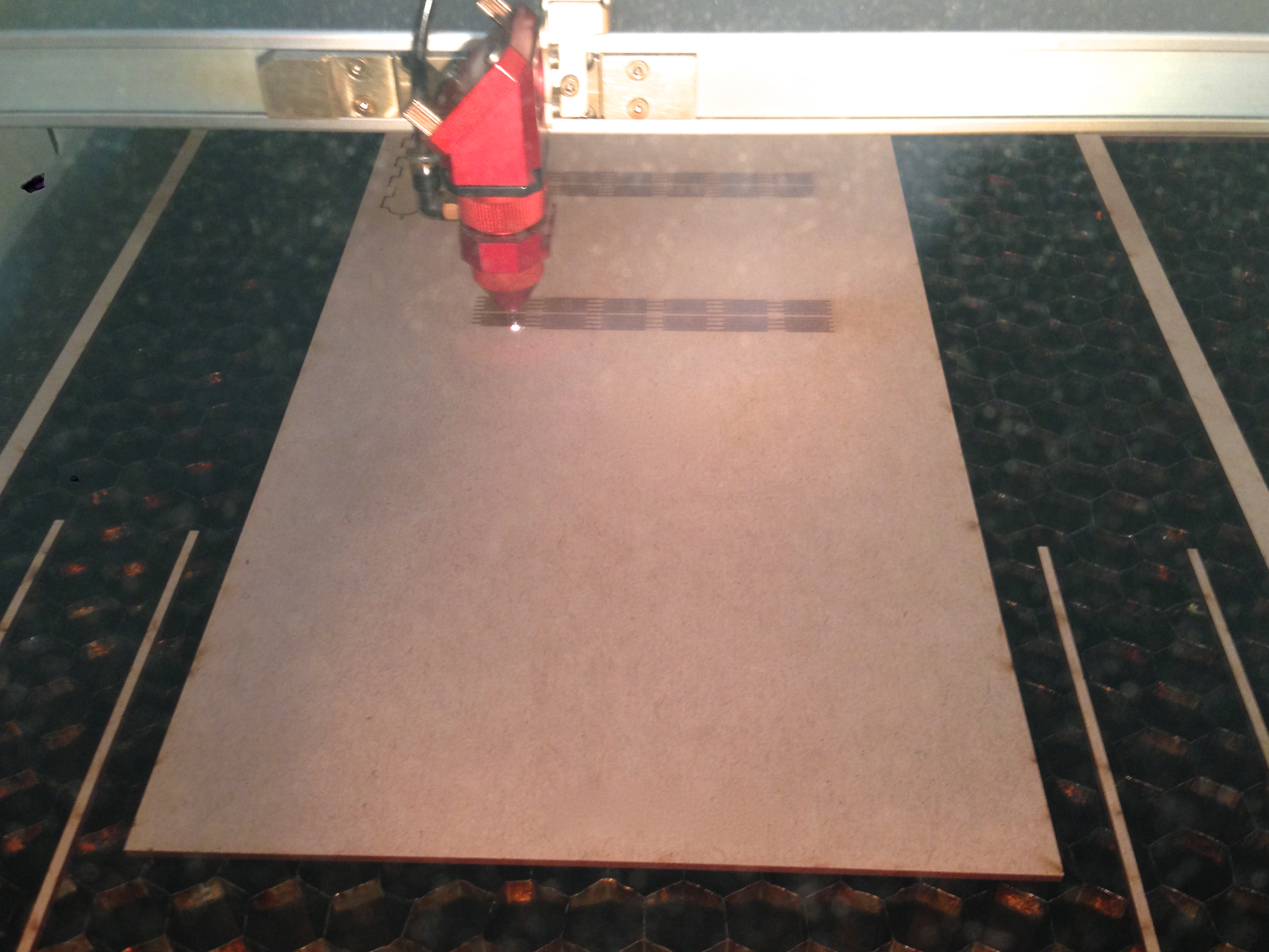 Picture of Laser Cutting !!!
