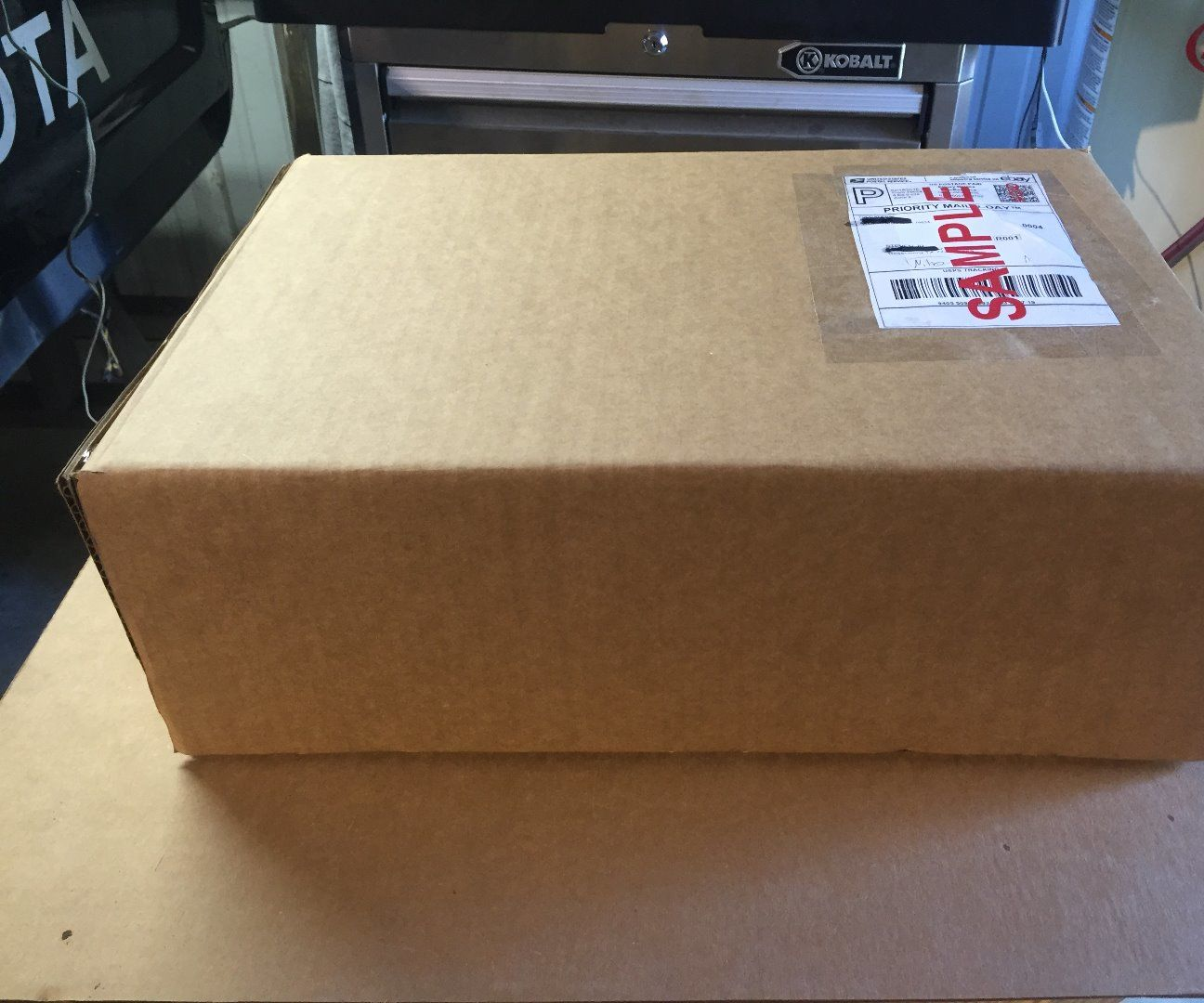 """100 x Mailing Package Small Cardboard Boxes 9 x 9 x 6/"""" SW"""