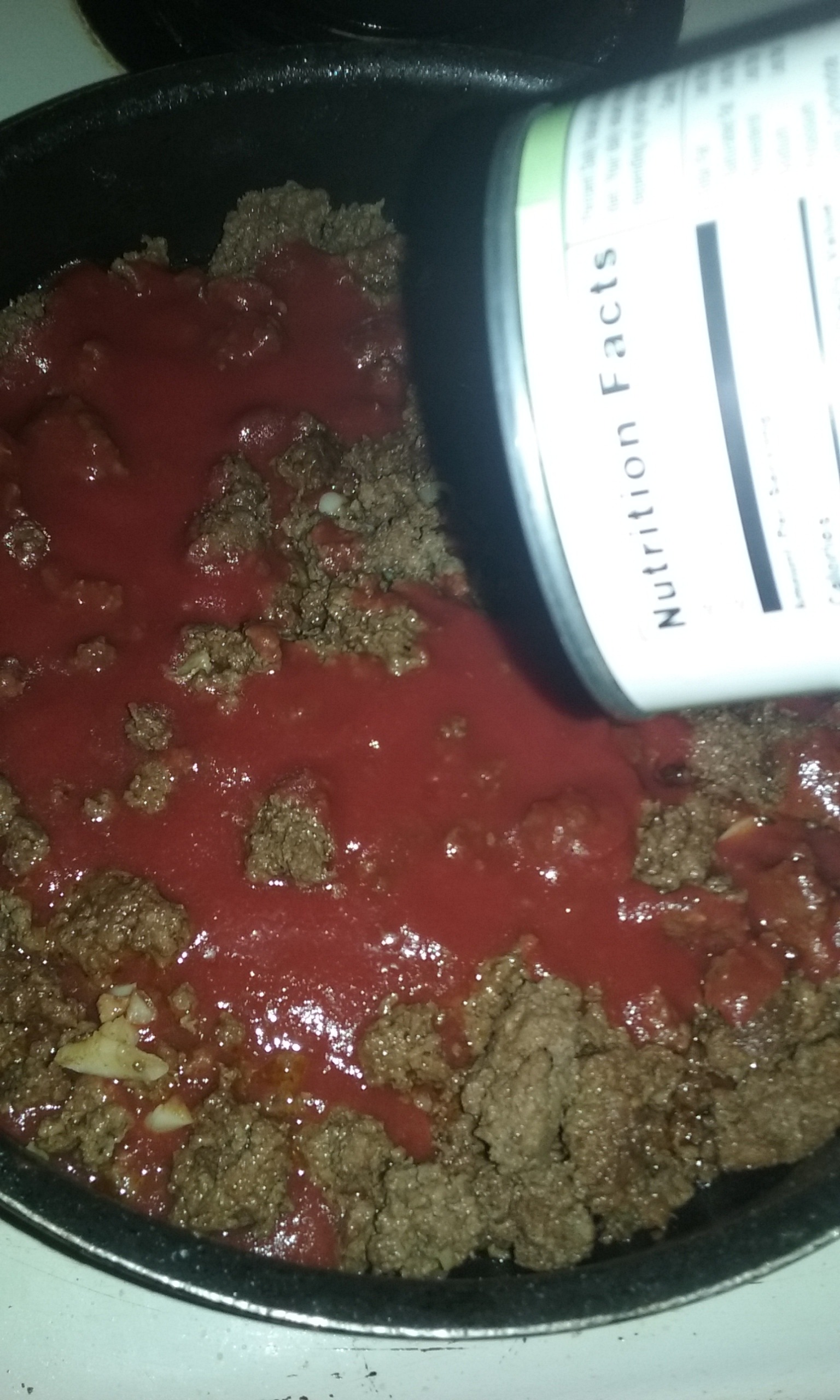 Picture of Turn the Meat and Assemble the Chili
