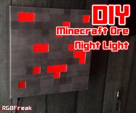 DIY | Minecraft Ore Night Light