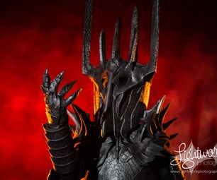 Epic Sauron Costume