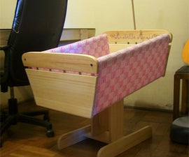 Bed Side Baby Cribs for Anabelle Anais