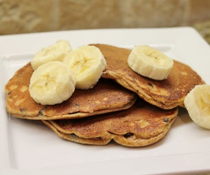 Almond Banana Pancakes (gluten/grain/dairy Free)