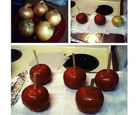 Candy apple prank