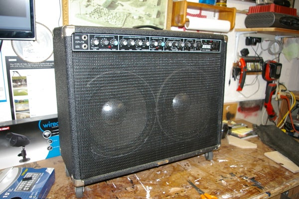 Making a New Speaker Grill for a Guitar Amp or Speaker Cabinet