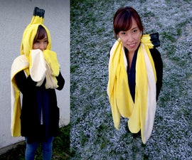 Giant Banana Peel Wearable