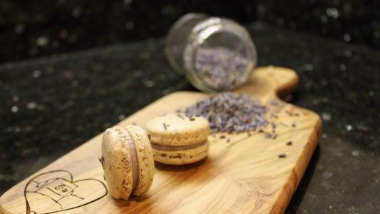 Lavender Macarons | Josh Pan