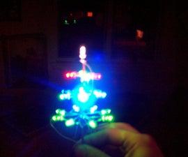 USB powered LED christmas tree