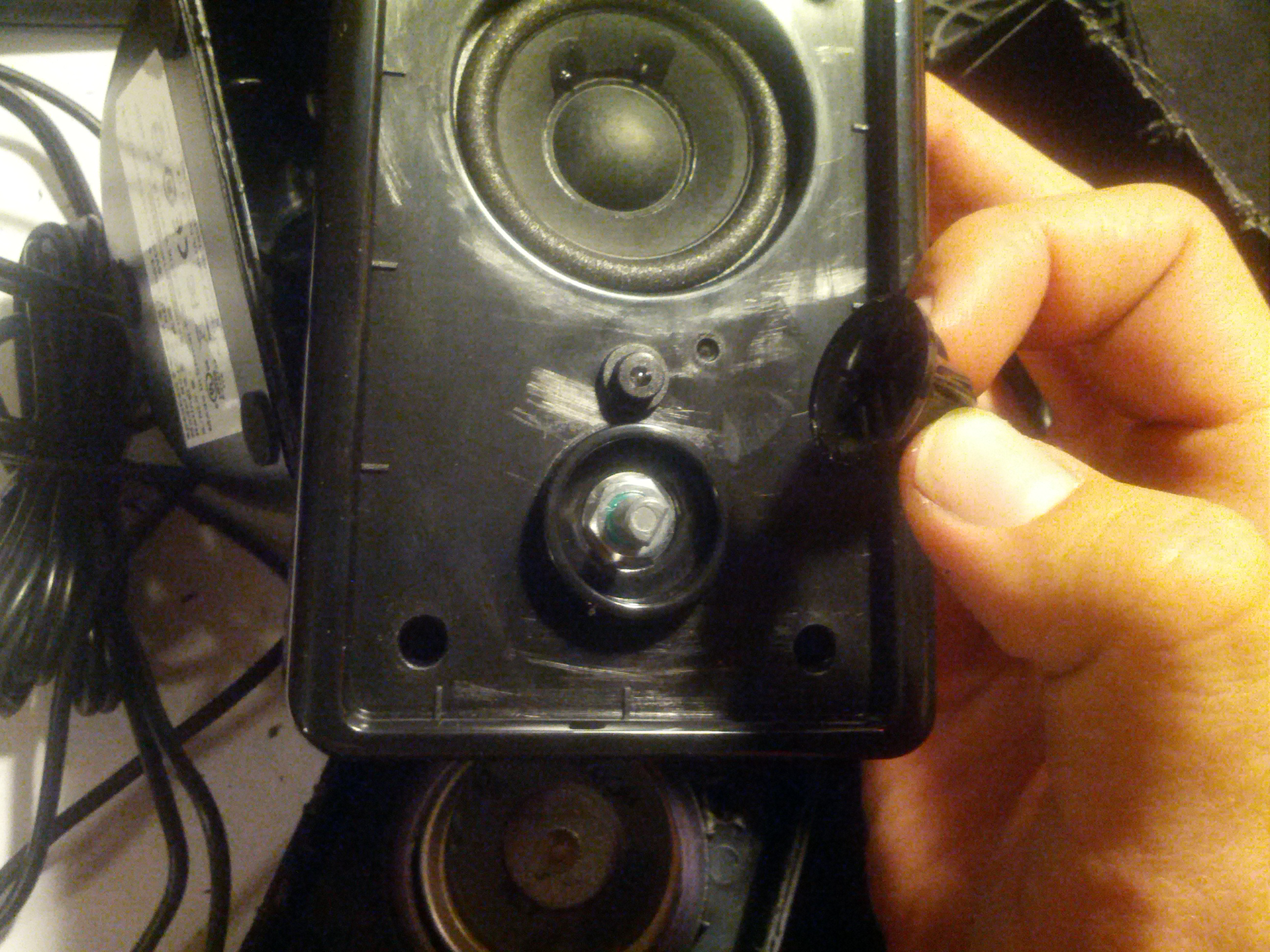Picture of Disassembling the Speakers