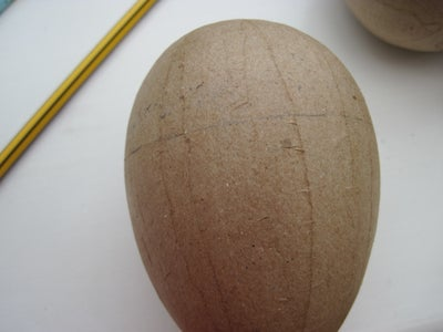 Cutting and Painting the Eggs
