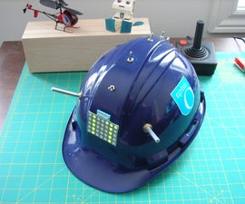 LED Hat Display with Pong