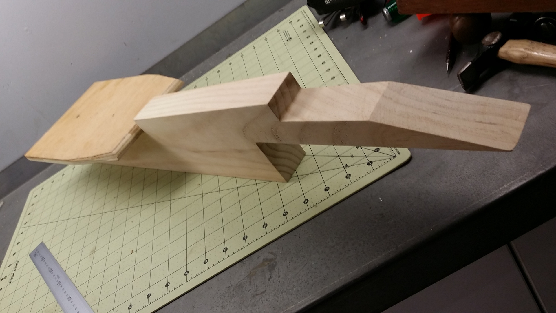 Picture of Timber Backbone and Plywood Templates