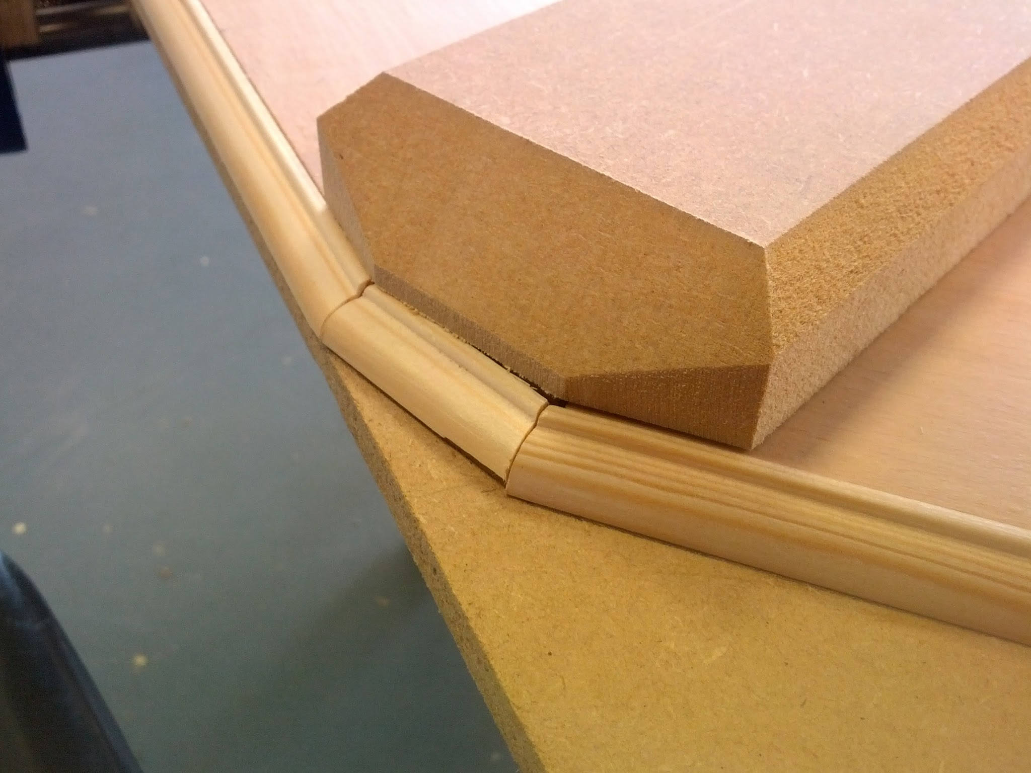 Picture of Make the Dividers, Cut the Edging and Varnish Your Player Places.