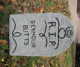 Halloween Tombstone Lawn Decoration