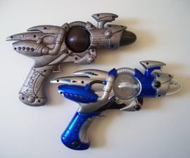 EZ Toy Gun Modification - Silly Fluff to Bad & Tuff!