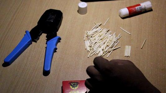 Add Glue to Sticks