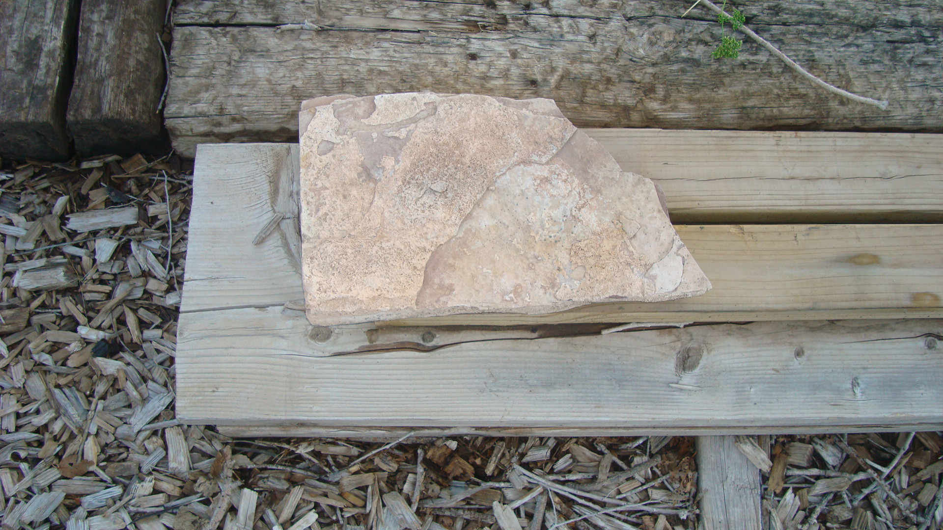Picture of CONVERT a ROCK INTO a CLASSY END TABLE.