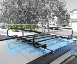 DIY Roof Rack Cross Bars