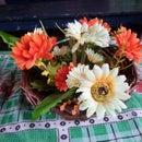 Flower Vars From Newspaper Tube