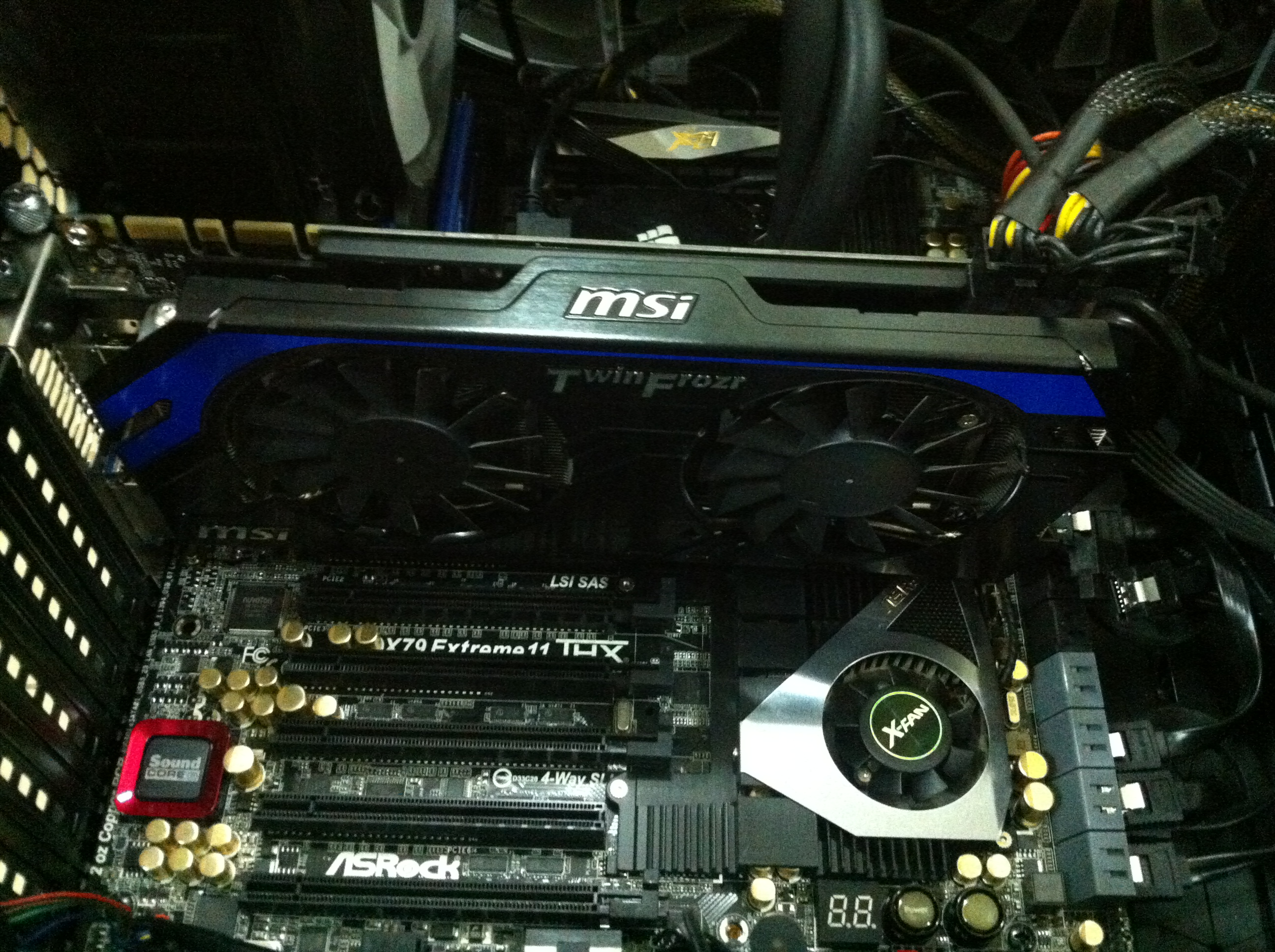 Picture of Video Card PCI Express 3.0 Instalation