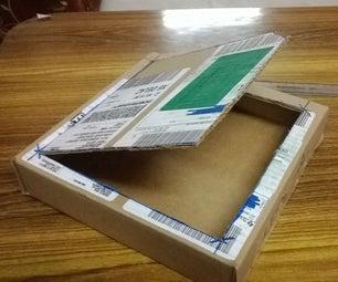 DIY Component Organizer- Re-purposing Ti`s Samples Box As a Storage Box