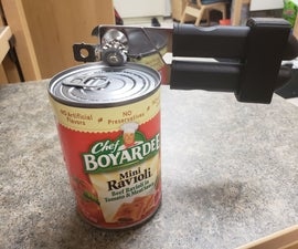 One Handed Can Opener