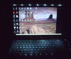 Nightlight led laptop 1.2 version.