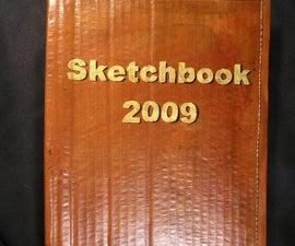 Binding The Whole Ream Cardboard Covered Sketchbook