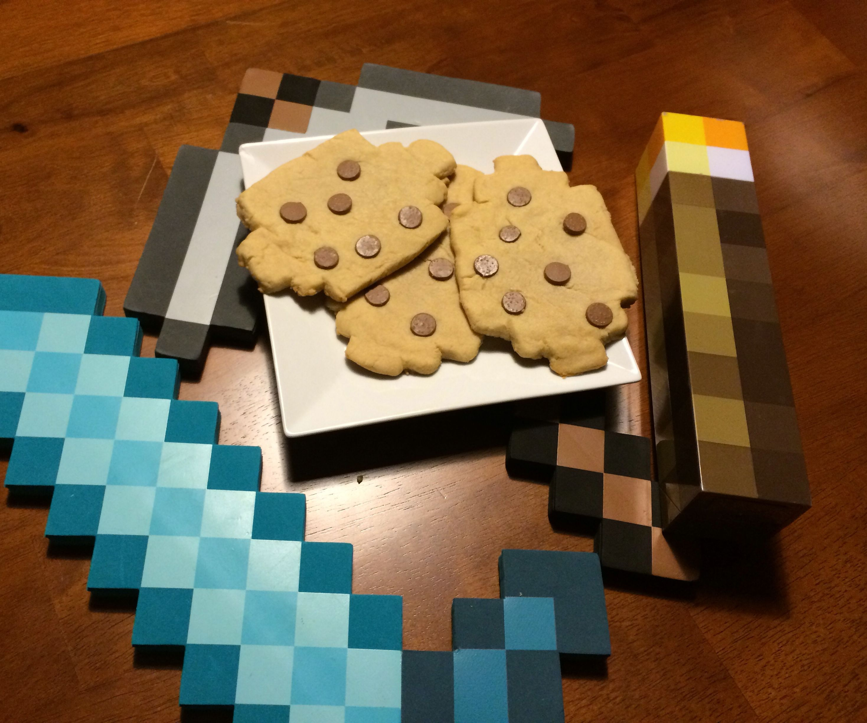 Minecraft Chocolate Chip Cookies Irl 8 Steps With Pictures