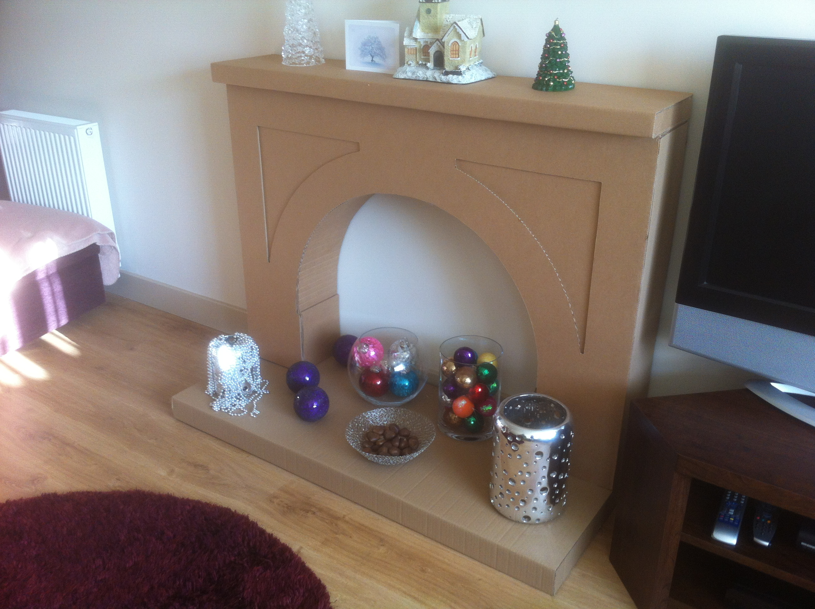 Picture of Christmas Fake Fireplace