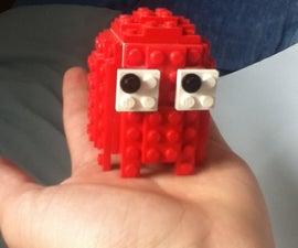 Lego PAC-man Ghost