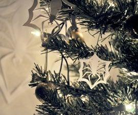 Jack Skellington Spider Snowflake Ornament