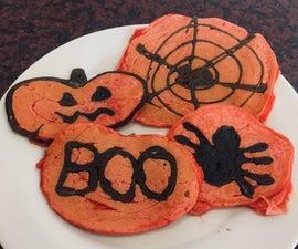 Halloween Pancake Art