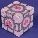 origami companion cube