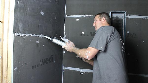 Picture of Make Wedi Panels 100% Waterproof
