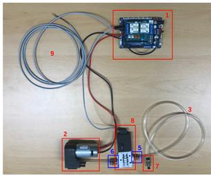 Vacuum Gripper System Using OpenCR
